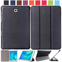 Folding Stand Leather Smart Case Cover For Samsung Galaxy Tab S2 8.0 9.7 Tablet