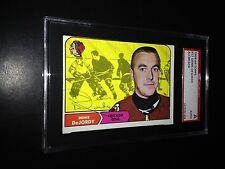 Denis DeJordy Signed 1968-69 Topps Card Blackhawks SGC Slabbed #AU381458