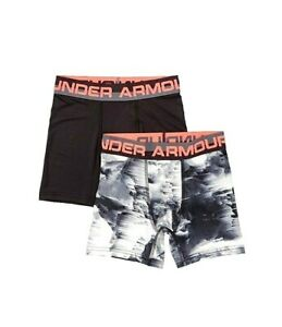 UNDER ARMOUR UA Boys/' Original Boxerjock Morning Champ 2-Pack Underwear YMD