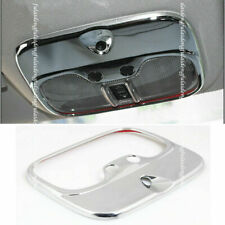 1x For Jeep Patriot Compass 11 2017 Chrome Inner Front Reading Light Cover Trim Fits 2012 Jeep Patriot