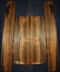Guitar Luthier Tonewood BRAZILIAN ROSEWOOD Acoustic backs sides back side SET