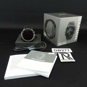 NEW Garmin Fenix 5 Plus Watch Sapphire Titanium GPS Tracking Smartwatch Rugged