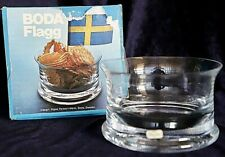 Vintage Retro 70s Boda Flagg Condiment Dessert Bowl 13.5 cm 900gm MIB