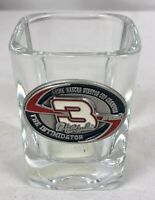"""2002 LICENSED - Dale Earnhardt #3 Shot Glass 2.5"""" tall- HEAVY GLASS NICE - 114A"""