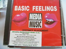 BASIC FEELINGS RARE LIBRARY MUSIC QUALITY CHECKED CD