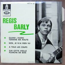 REGIS BARLY EP French Protest singer GROOVY FREAKBEAT PROD. MINT!