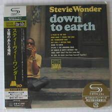 Stevie WONDER-Down to Earth GIAPPONE SHM MINI LP CD OBI NUOVO UICY - 93869