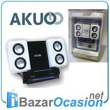 MINI ALTAVOCES para MP3 / MP4 / Portátil / CD  Speakers Akuo AK-AL47