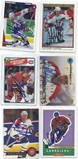 Stephane Quintal Signed Hockey Card Montreal 1995