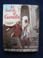 In Search of Gandhi - Film Book - SIGNED by RICHARD ATTENBOROUGH & BEN KINGSLEY