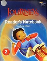 Grade 2 Journeys Readers Notebook Teachers Guide 2017 Edition 2nd