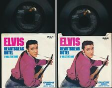 """ELVIS PRESLEY 45 TOURS SP 7"""" USA I WAS THE ONE"""