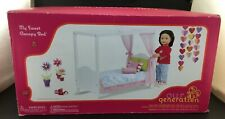 """Our Generation My Sweet Canopy Bed For 18"""" Dolls"""