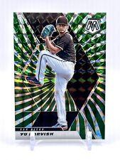 YU DARVISH   2021 Mosaic Green Swirls FOTL #'d 03/11   SSP San Diego Padres
