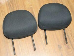 CHEVROLET HHR FRONT SEAT RH LH HEADREST SET HEAD RESTS BLACK CLOTH OEM