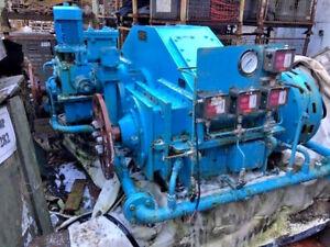 Gec Marine & Industrial Gears Ltd Gearbox 2R 1200 1044 Kw 1400r/min New EX-MOD