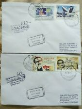 Bangladesh Rare use 2 Commercial Cover From Mobile Post Office