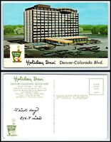 COLORADO Postcard Denver-Colorado Blvd, Holiday Inn K52
