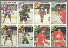 1978-79 OPC Proof 8-Panel, Edestrand, Fairbairn, Grant