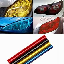 4x 12*24'' Auto Car Light Headlight Taillight Waterproof Sticker Film Vinyl Set