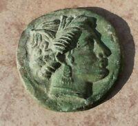 ancien médaillon en bronze