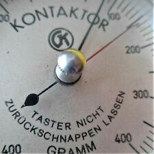 GK KONTAKTOR (Federkraftmesser), 50-500 gramm, voll funktionsfähig