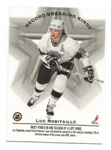 1993-94 Donruss #395 Wayne Gretzky / Luc Robitaille RB Los Angeles Kings