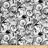 Disney Nightmare Before Christmas Tossed World 100% Cotton Fabric by the Yard