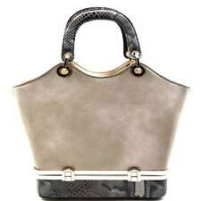 Women PU Leather Tote Bag Shoulder Bag Handbag Crossbody Satchel Lady Fashion