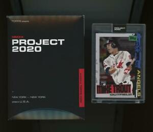 2020 Topps Project #85 Mike Trout Jacob Rochester RC Rookie