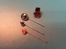Hasselblad set of stick pins tie tack hat pins collectible enamel logo