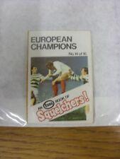1970/1971 Esso: Squelchers - 14 European Champions, An Esso Mini-Book 16 Issued