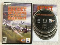 Secret Weapons Over Normandy - Windows PC - Complete - CD-ROM - VGC