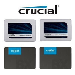 """SSD 120GB 240GB 480GB 1T Crucial BX500 Solid State Drive 2.5"""" SATA III 540MB New"""
