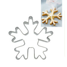 Christmas Snowflake Cookie Cutter Pastry Biscuit Metal Mold Tool Stainless Steel