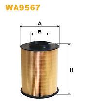 Air Filter fits FORD FOCUS Mk2, Mk3 1.6 1.6D Wix 76899132 1848220 AV619601AD New