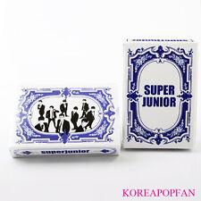 SUPER JUNIOR SJ SUPERJUNIOR PLAYING CARDS KPOP NEW