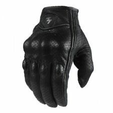 Motorcycle Gloves Men Leather Glove Full Finger Biker Hand Protector Driver Gear