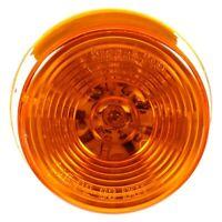 "Truck-Lite Signal-Stat 2"" Amber Round Grommet Mount LED Clearance Marker Light"