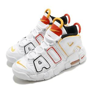 Nike Air More Uptempo PS Roswell Raygun White Red Kid Preschool Shoes DD9286-100