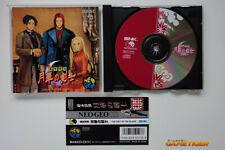 LAST BLADE Gekka No Kenshi + Spine Card SNK Neo Geo CD JAPAN