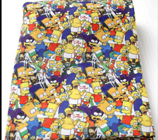 The Simpsons Fabric 1m x 1.4m Poly Cotton