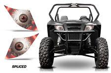 AMR Racing Arctic Cat Trail/Sport UTV Headlight Graphics Eye Sticker Decals SPLC