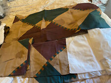 Cal King bed skirt with 2 pillow shams