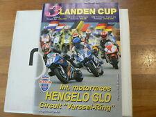2003 HENGELO GLD DUTCH PROGRAMMA  3 LANDEN CUP YAMAHA YZF-R6 POSTER,ARAI HELMET,