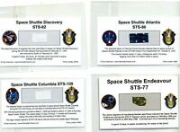 36 Flown Artifacts From Shuttles Columbia, Discovery, Atlantis and Endeavour