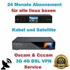 Dreambox VPN ABO Gigablue & Vu+ Sat & Kabel 24 Monate nur 19,95€