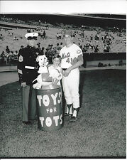 Tom Seaver 1968 United States Marine Corp Toys For Tots Photo NY Mets