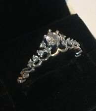 PANDORA FAIRYTALE TIARA RING , 196226CZ, S925 ALE STERLING SILVER,ALL SIZE+POUCH