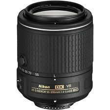 Nikon AF-S DX NIKKOR 55-200mm f/4-5.6G ED VR II 2 Lens  *BRAND NEW* Latest Model